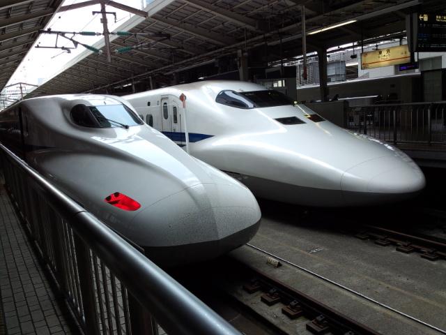 大阪へ移動中!